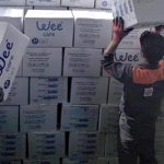 توزیع رایگان محصولات بهداشتی هلدینگ آذرگستران آسیا در گیلان